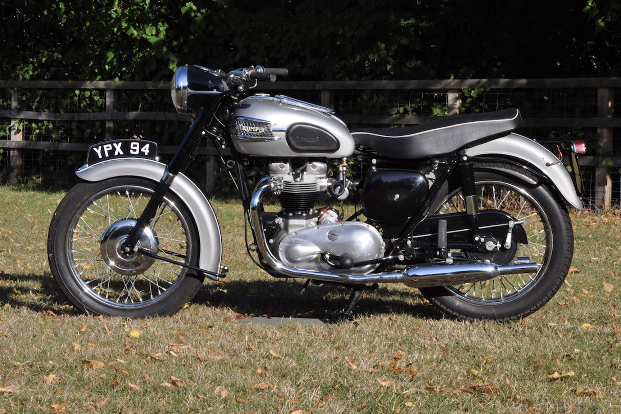 Jenks' Triumph bike up for sale at National Motorcycle Museum