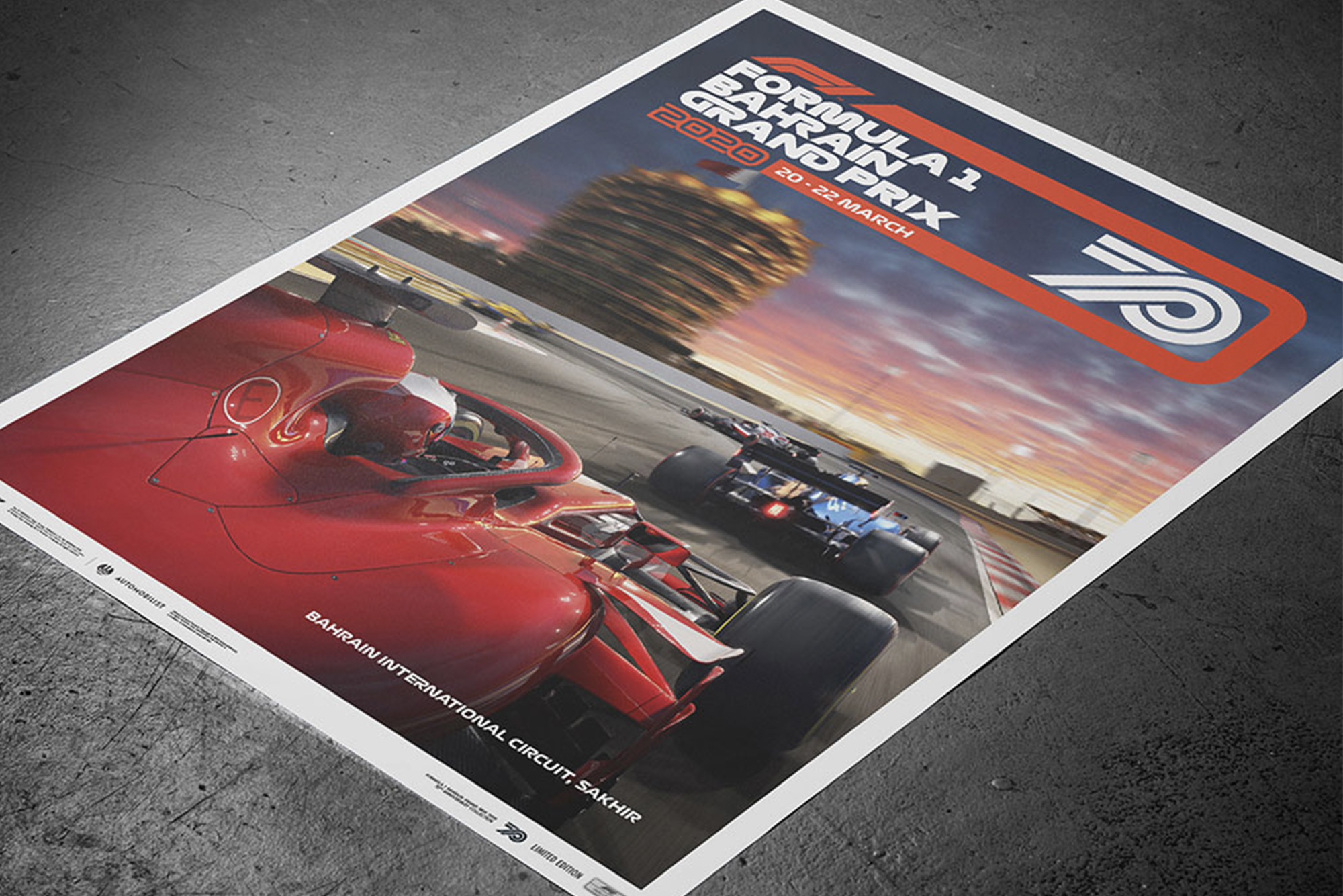 Formula 1 to offer limited edition posters for 70th anniversary celebrations