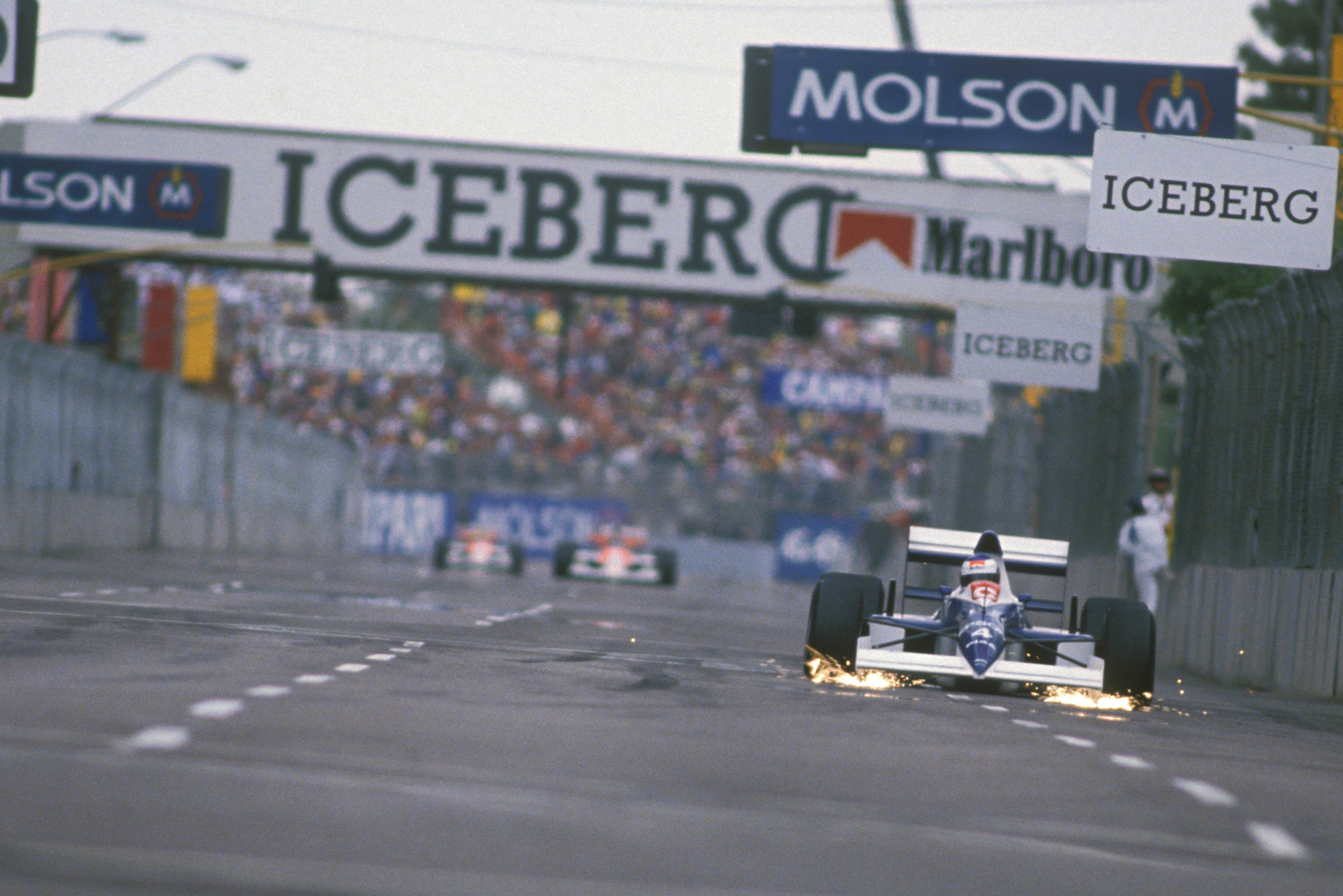 Alesi vs Senna: the battle for victory in Phoenix