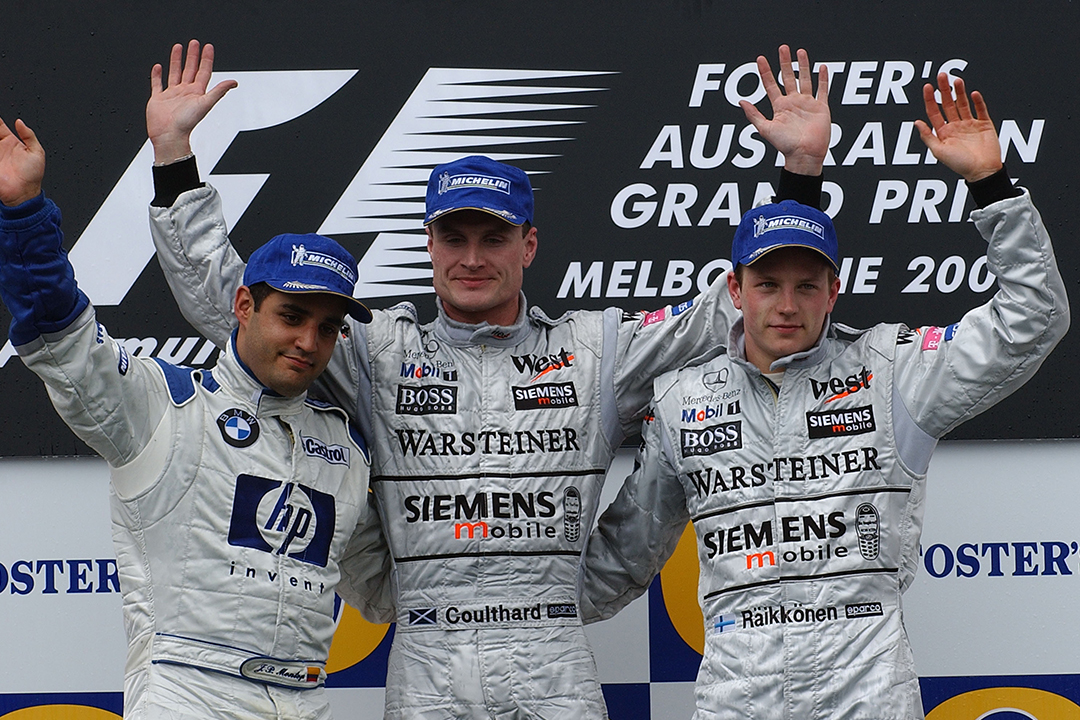 Drama in Melbourne — on track: the rip-roaring 2003 Australian Grand Prix