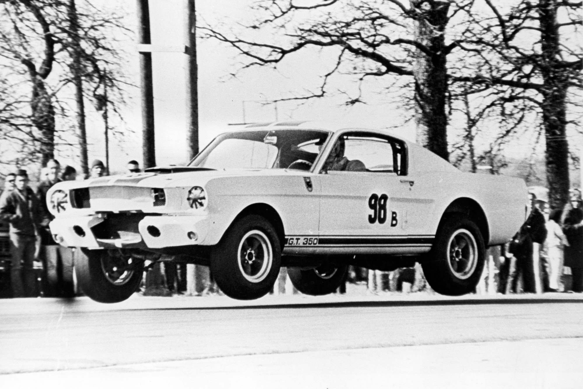 Ken Miles Shelby Mustang GT350R up for spring auction in Indiana