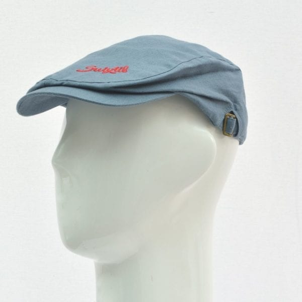 Suixtil Linen Race Cap in Blue