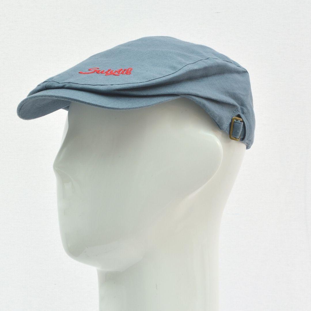 Product image for Suixtil Linen Race Cap Blue
