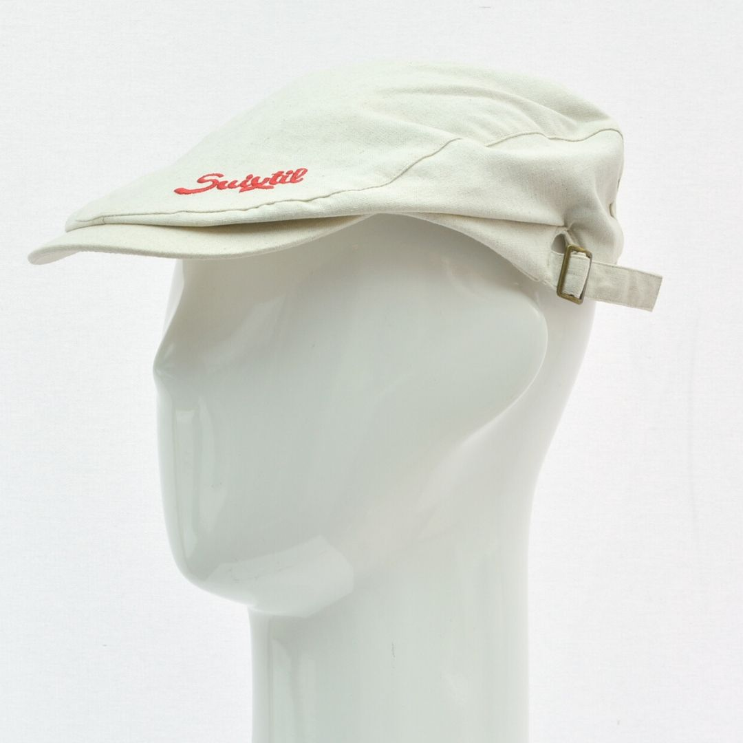Product image for Suixtil Linen Race Cap Beige