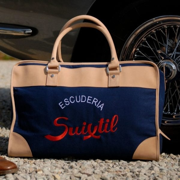Suixtil Touring Bag in Navy Blue