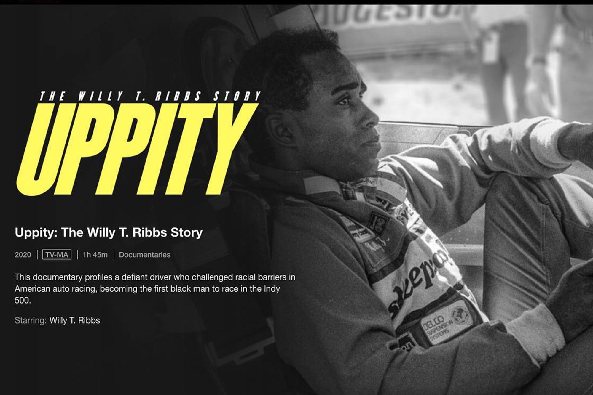 Uppity Netflix screen