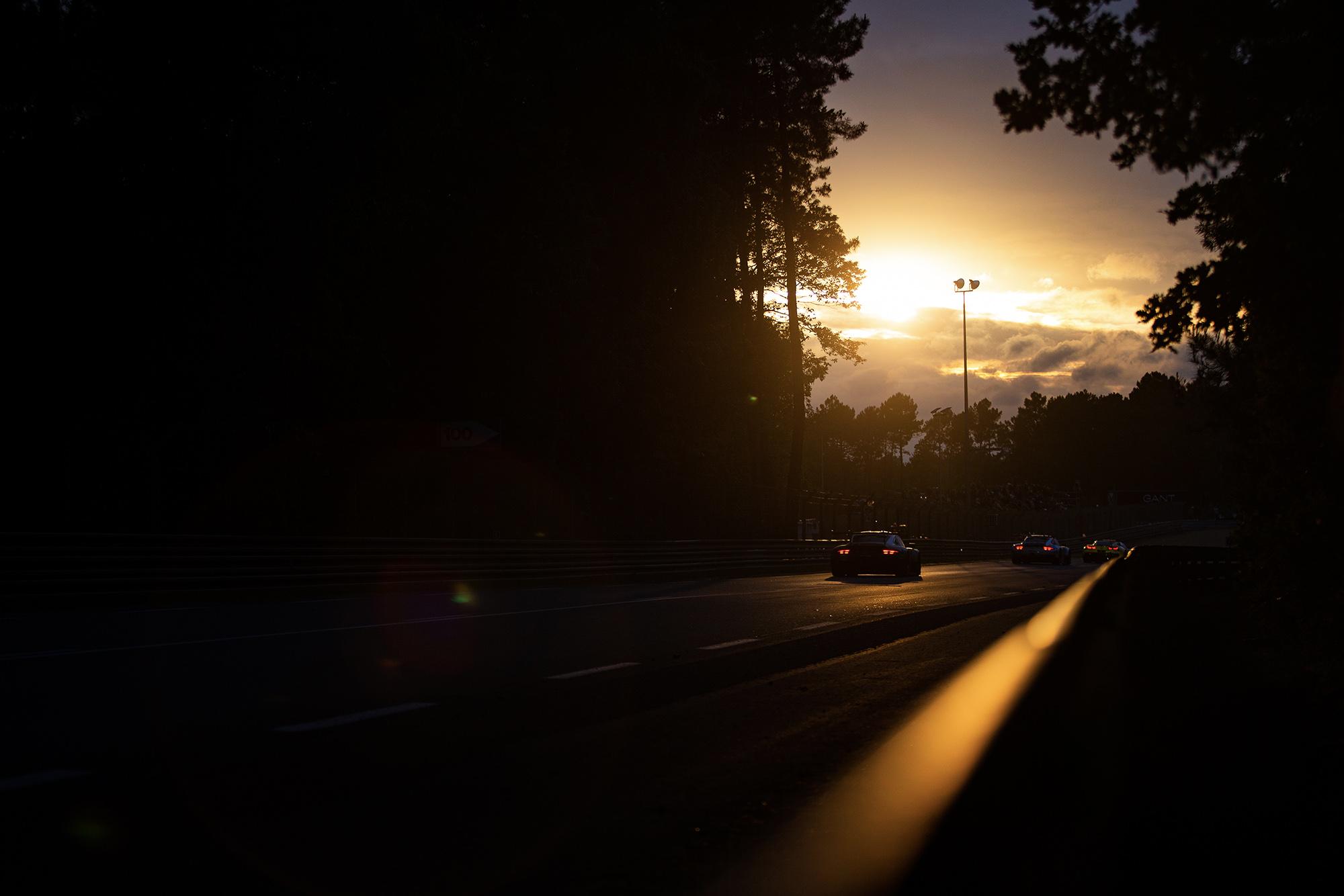 Le Mans 2019 sunset