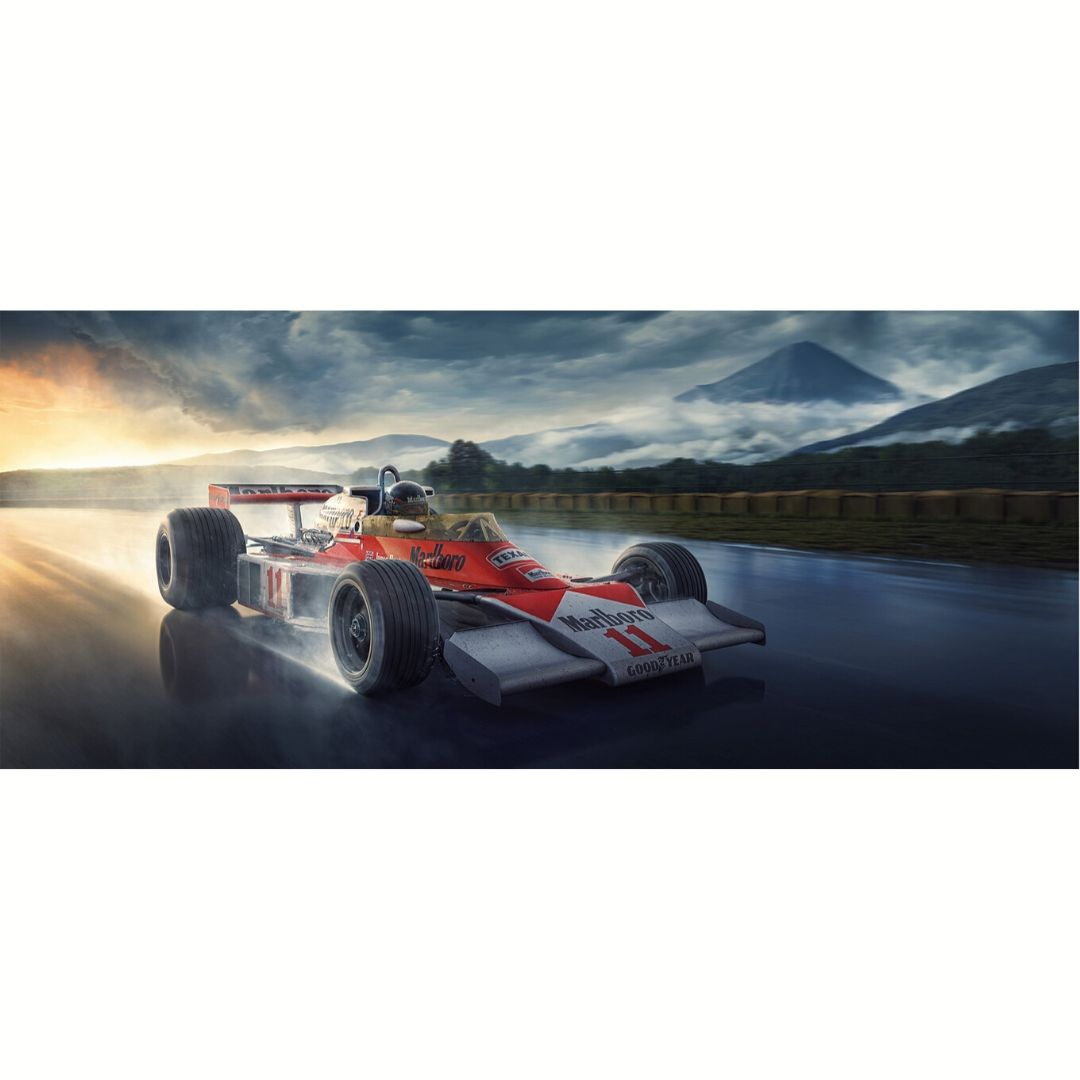 Product image for Hunting For Victory | James Hunt |  Artwork