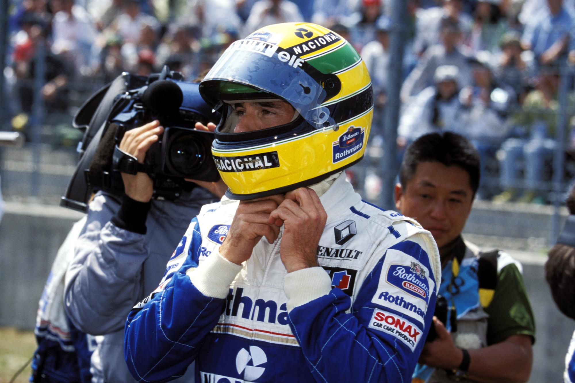 Ayrton Senna with Williams