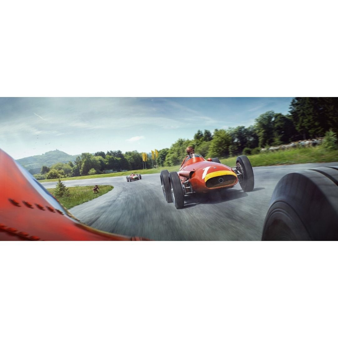 Product image for The Lap That Made A Legend | Juan Manuel Fangio | Artwork