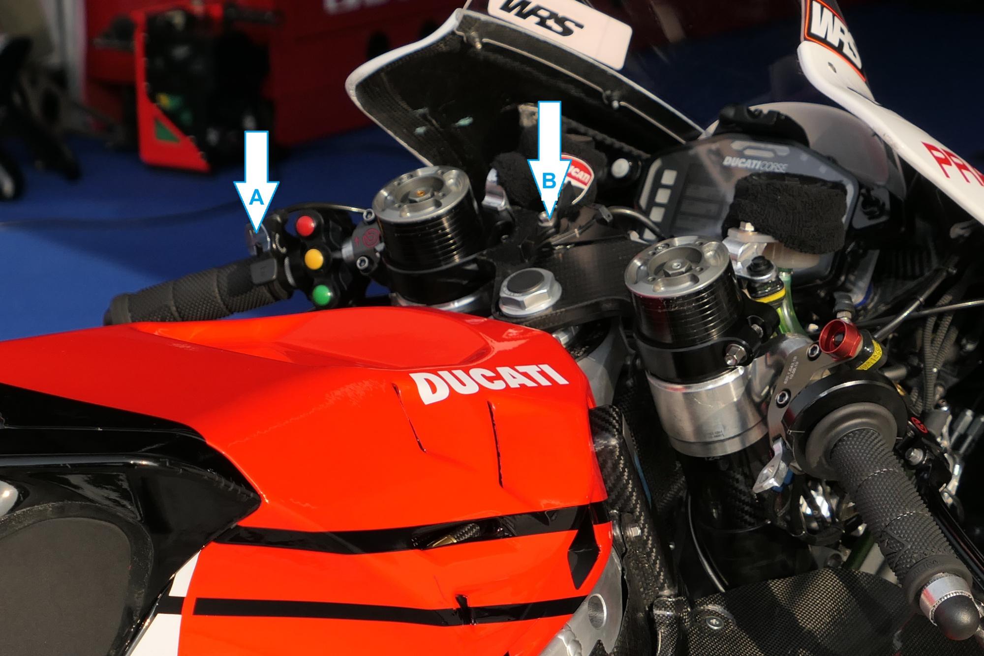 Ducati's GP20 MotoGP bike