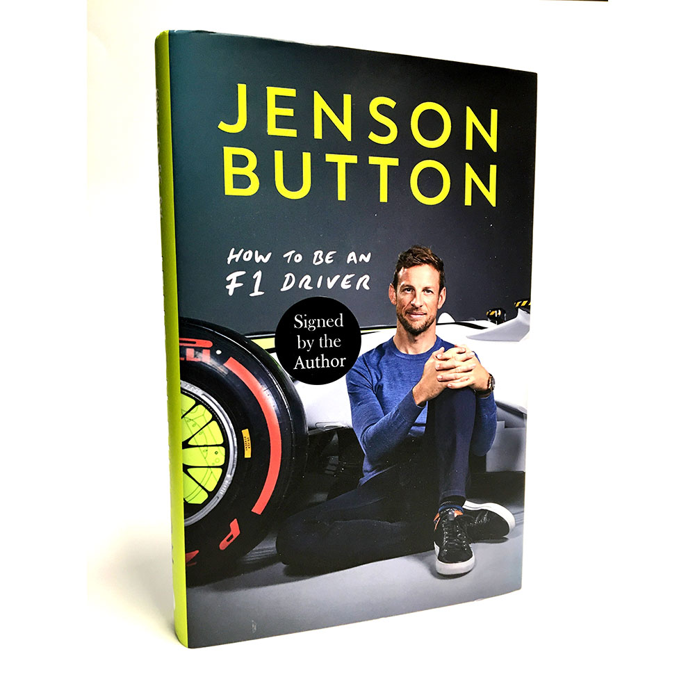 Product image for How to be an F1 Driver, signed Jenson Button