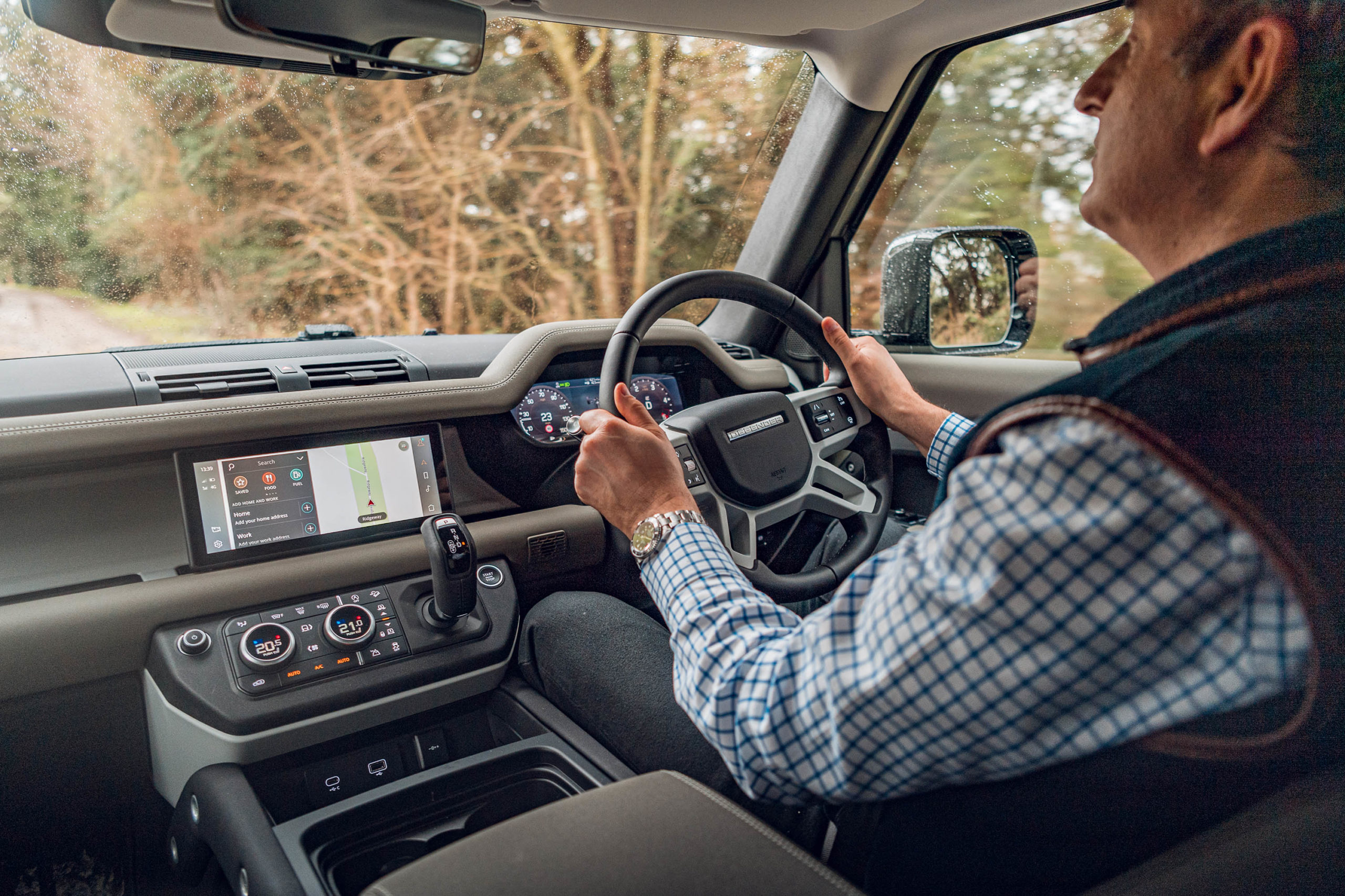 Interior-picture-showing-Andrew-Frankel-driving-2020-Land-Rover-Defender