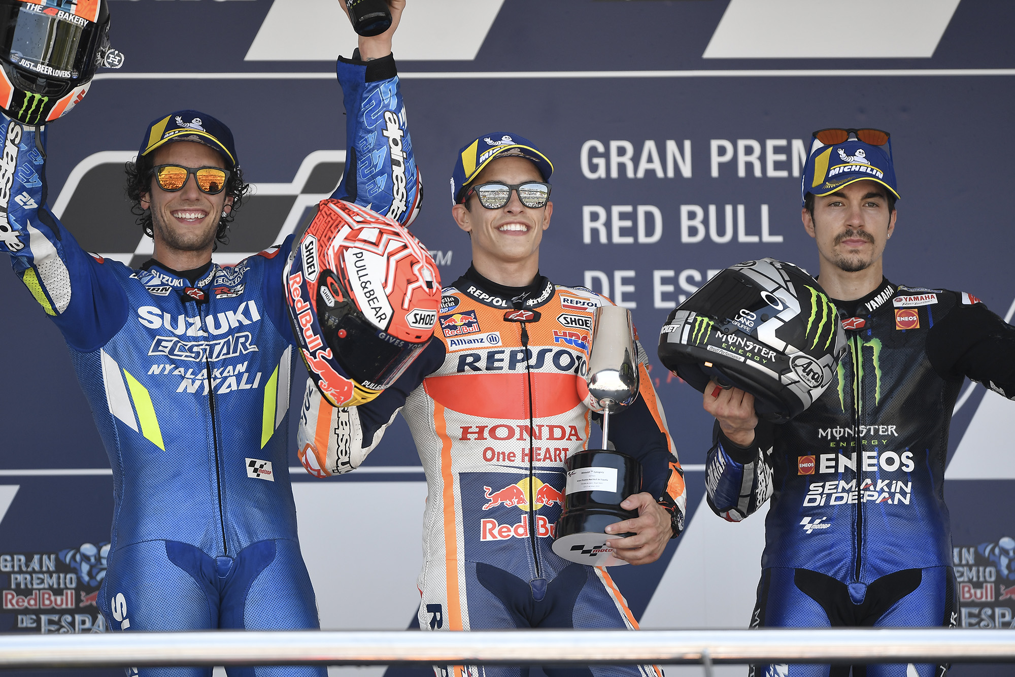Márquez, Viñales & Rins to battle in MotoGP virtual race
