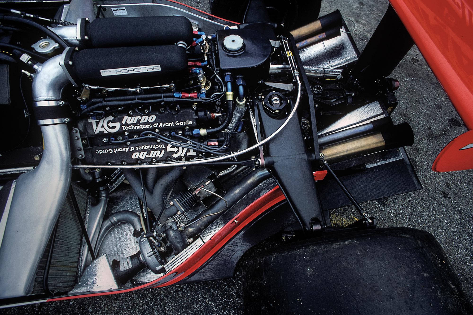 TAG-Porsche turbo V6 McLaren