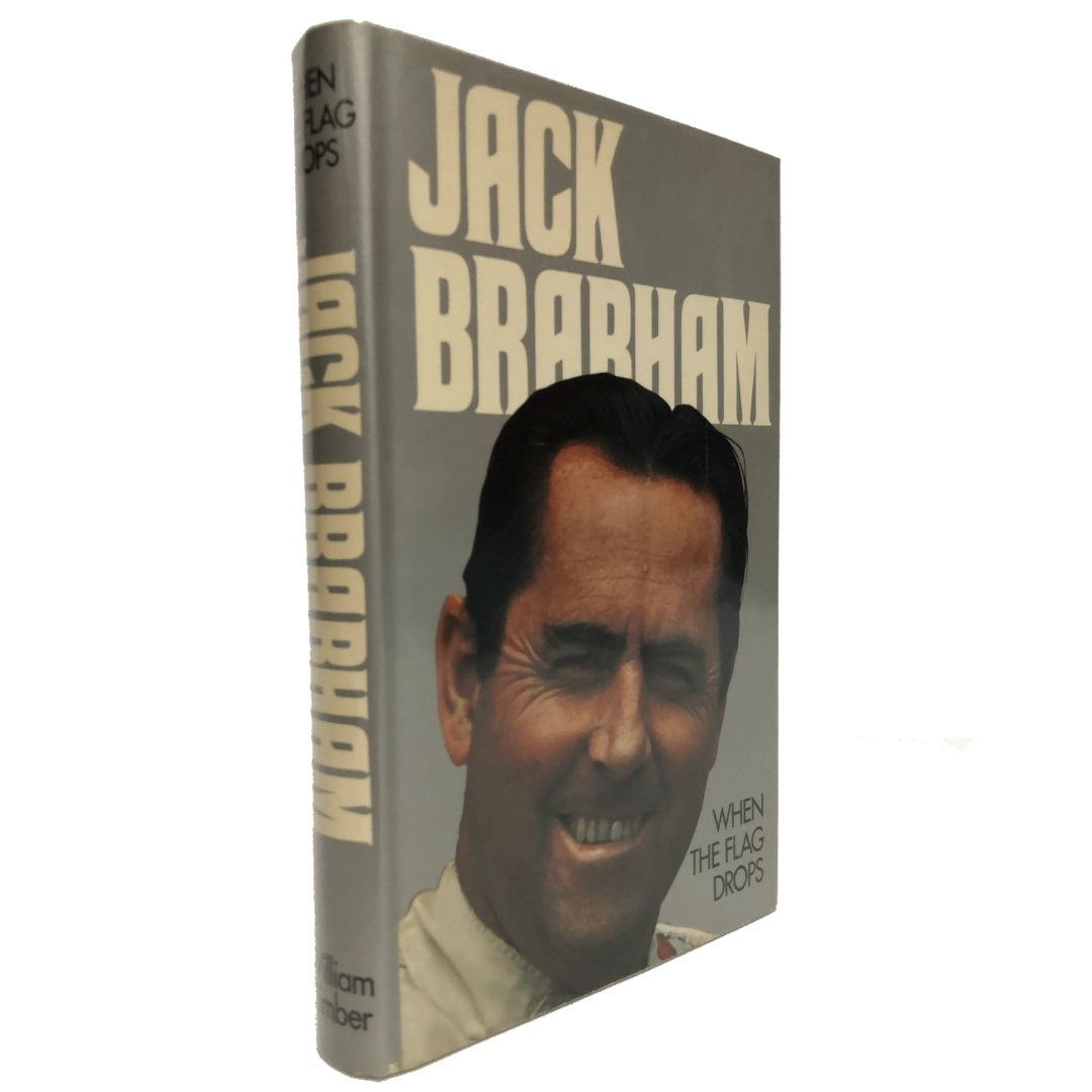 Product image for Jack Brabham | When the Flag Drops | Signed by Jack Brabham
