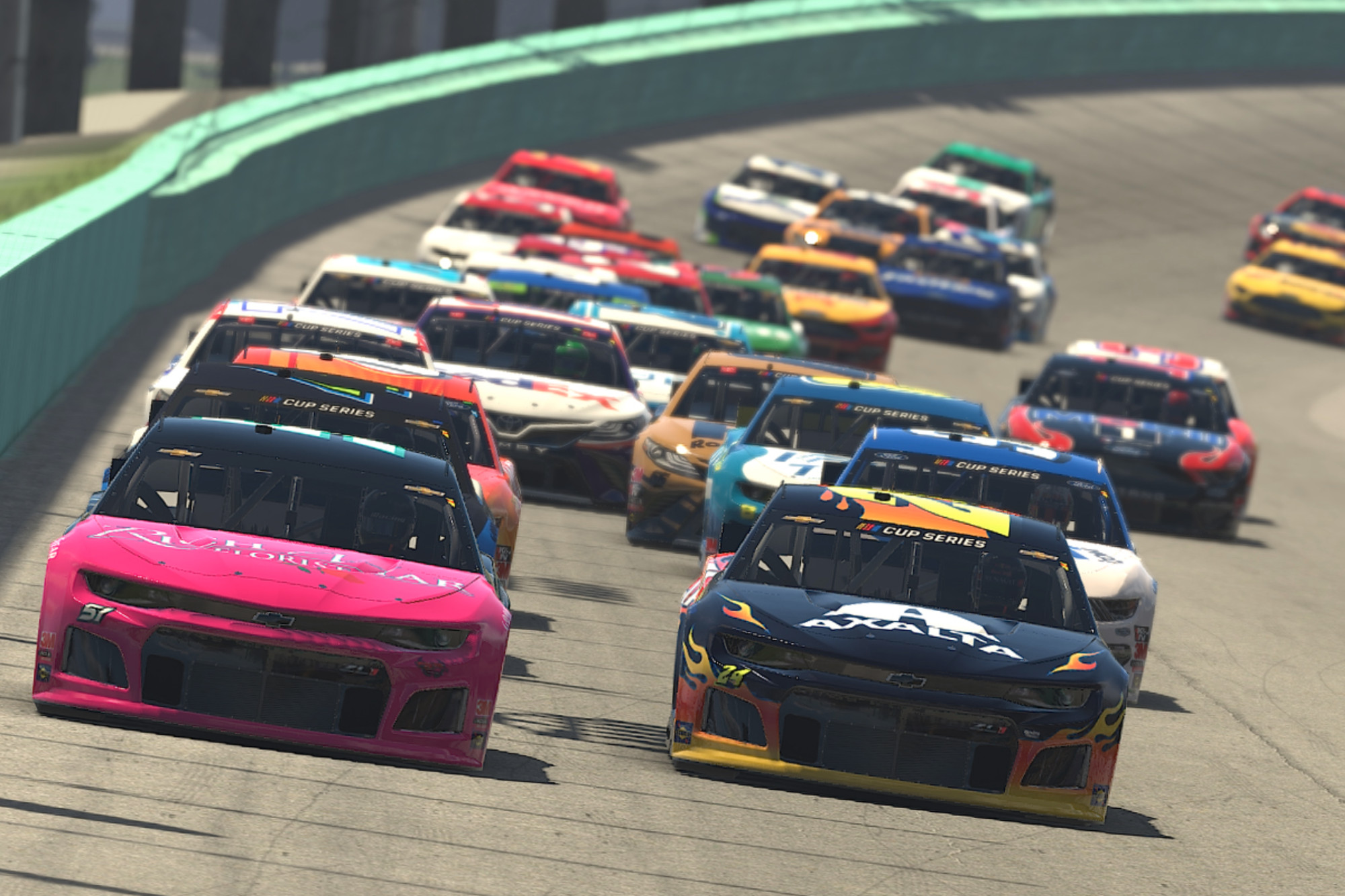 Virtual racing this weekend: esports dates, times and streams