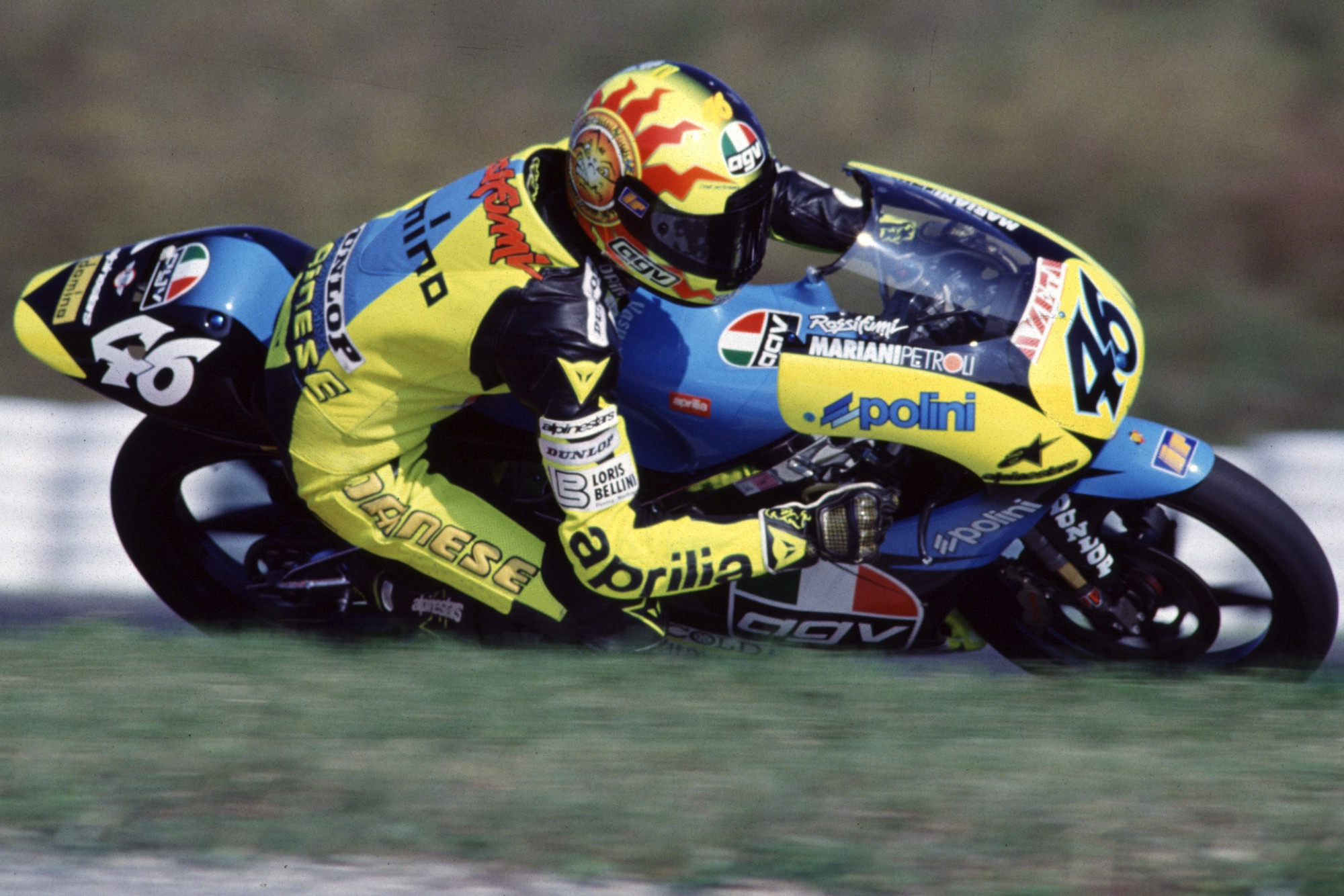 Happy 24th MotoGP birthday to Valentino Rossi!