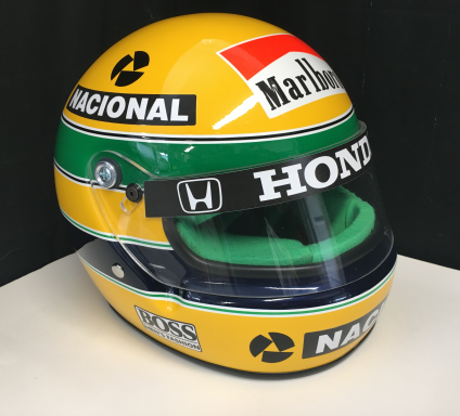 Product image for Ayrton Senna | full size helmet | 1991 Brazilian Grand Prix
