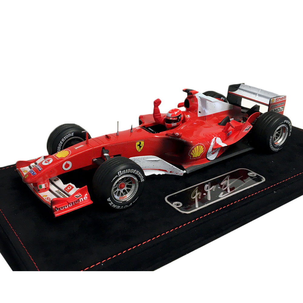 Product image for Ferrari F2004 presentation | signed by Michael Schumacher