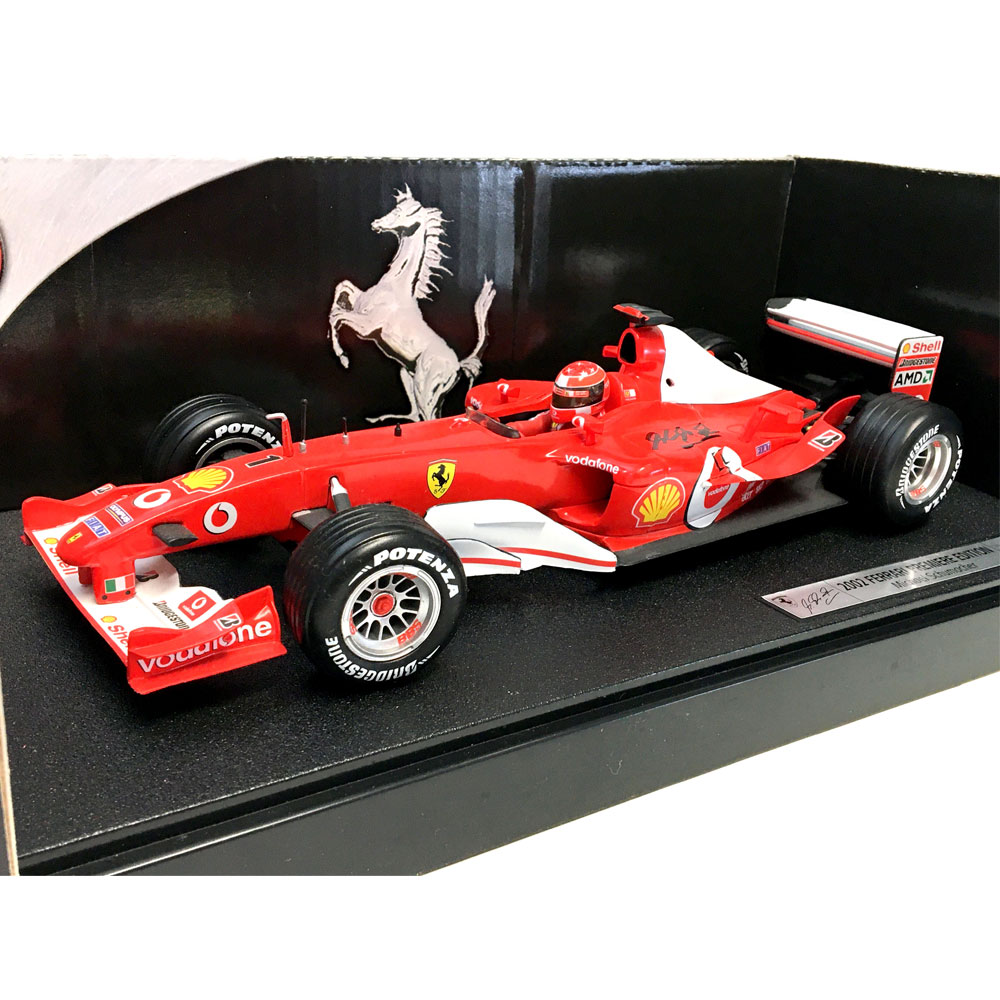 Product image for Michael Schumacher signed Ferrari F2002
