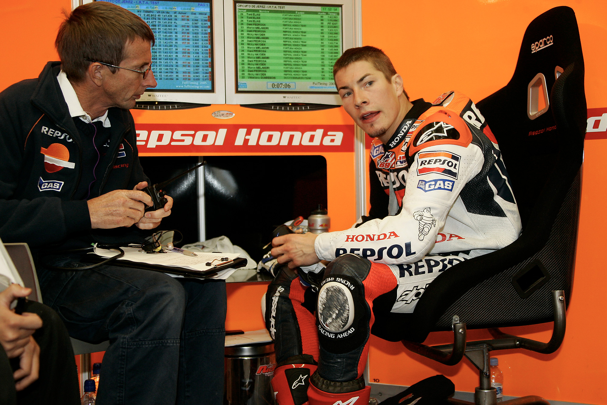 New kids in the paddock, 2003: exclusive MotoGP motorhome tour