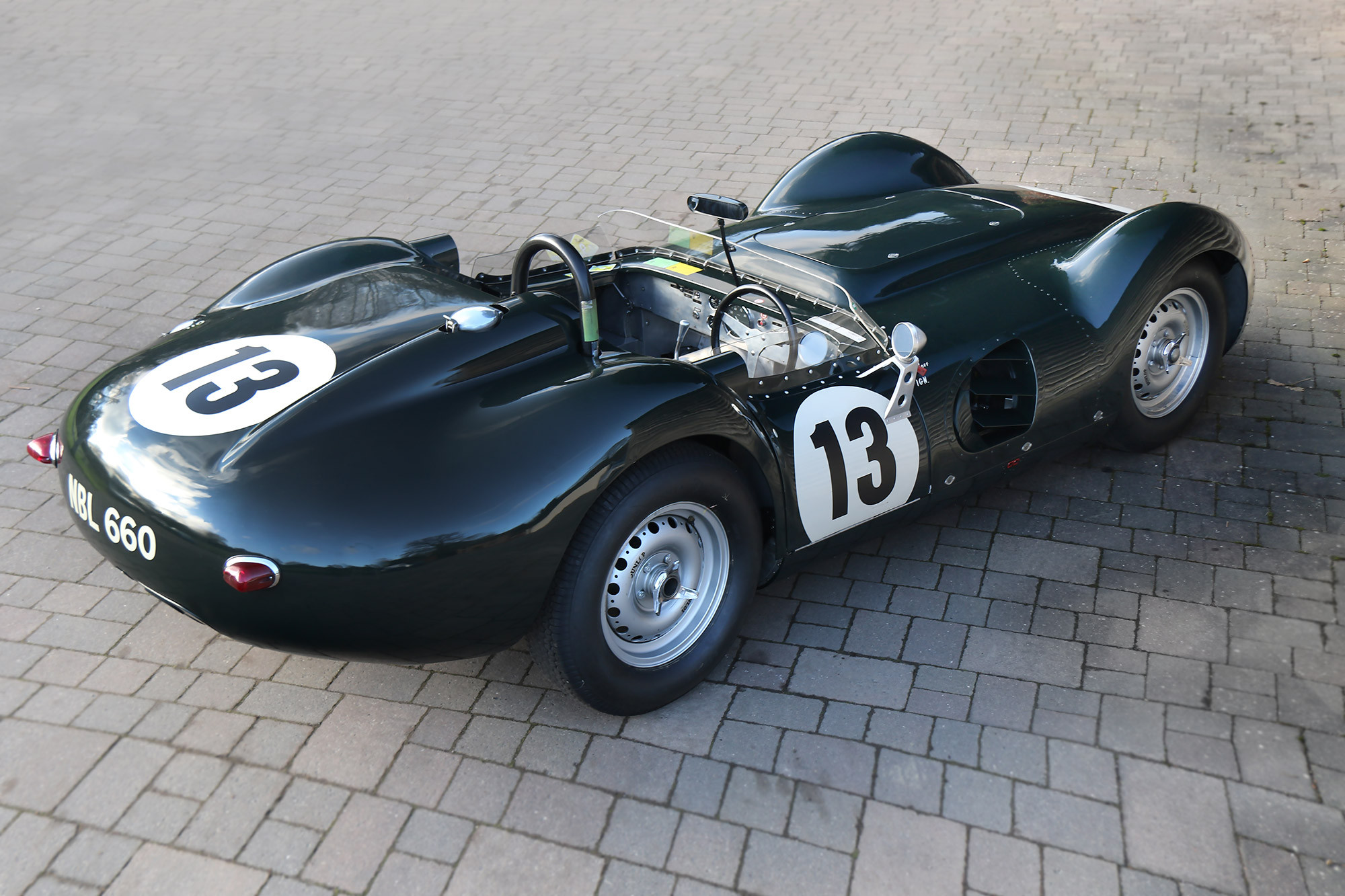 'Most successful' Lister Jaguar Knobbly, owned by Peter Whitehead, for sale