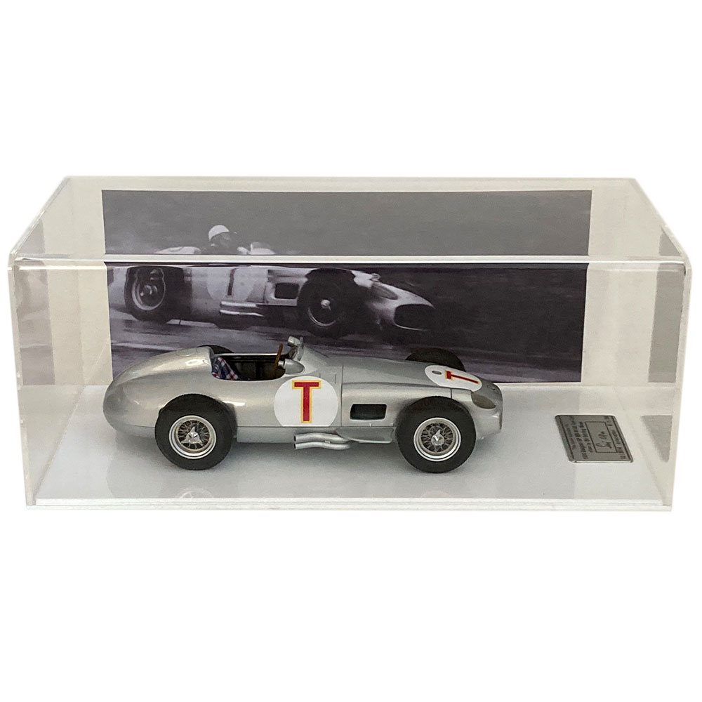 Product image for Mercedes W196 T-Car 1:18, signed Stirling Moss