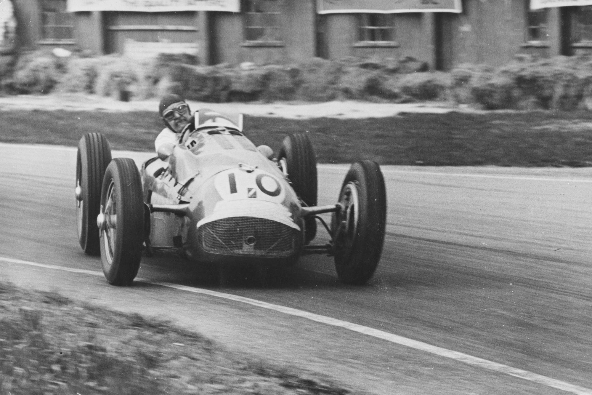 The larger than life sports car racer, Duncan Hamilton