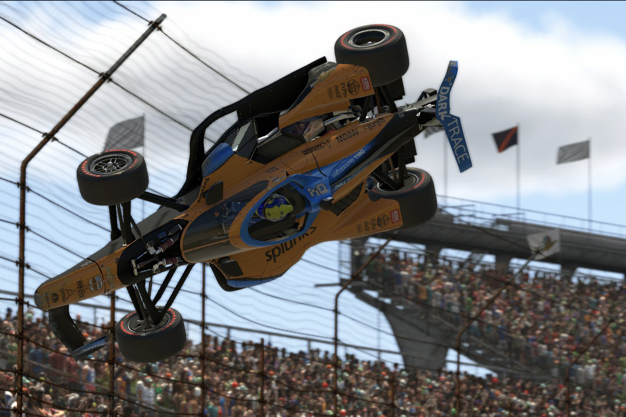 Pagenaud takes out Lando Norris in virtual Indy race & spins into real-world strife