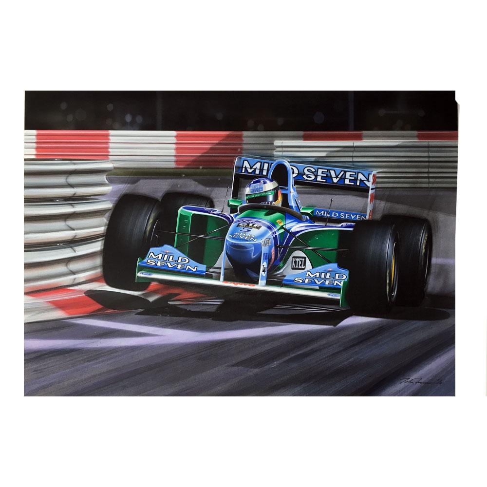 Product image for Benetton B194 original, signed Michael Schumacher