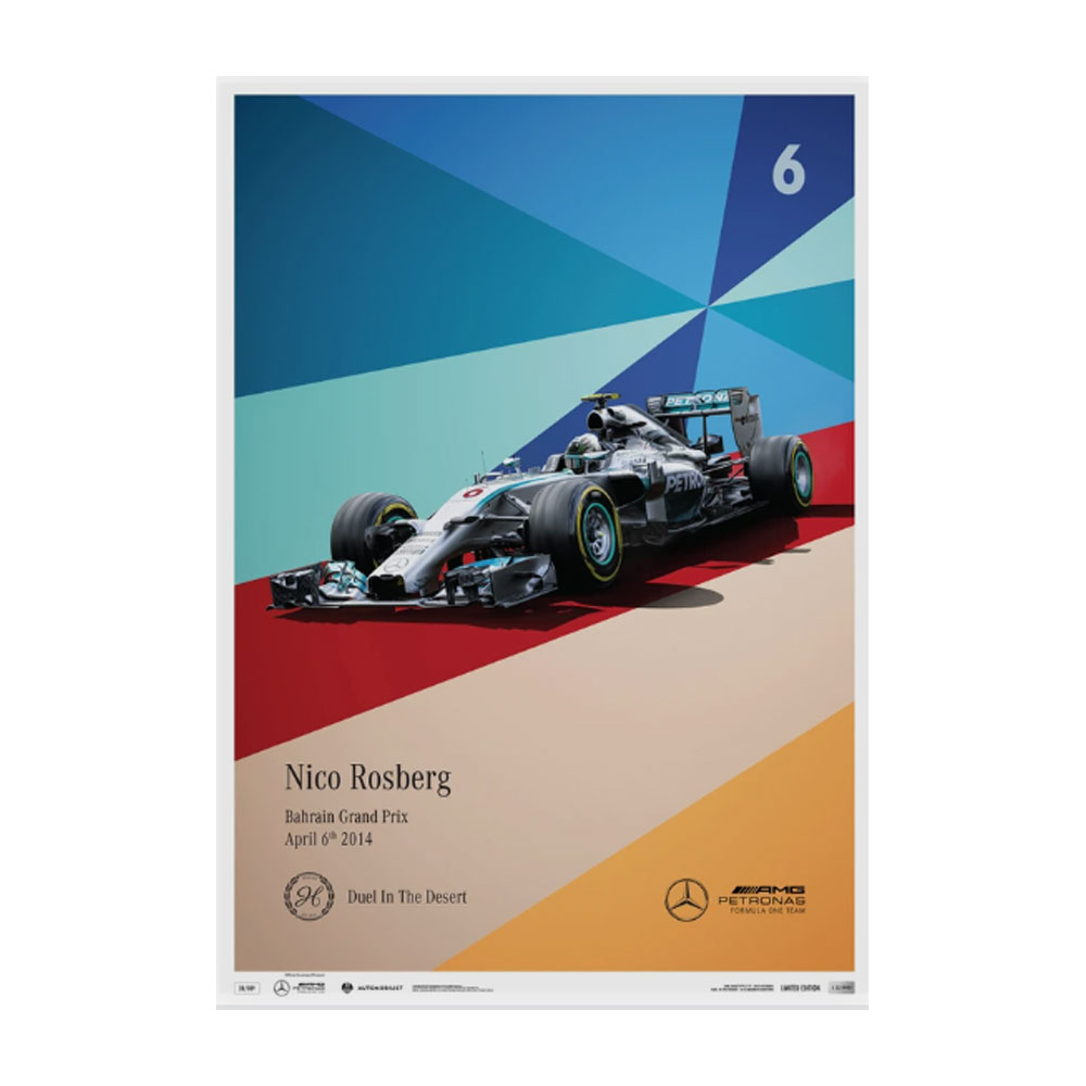 Product image for Mercedes-AMG Petronas Motorsport - 2014 - Nico Rosberg   Limited Edition