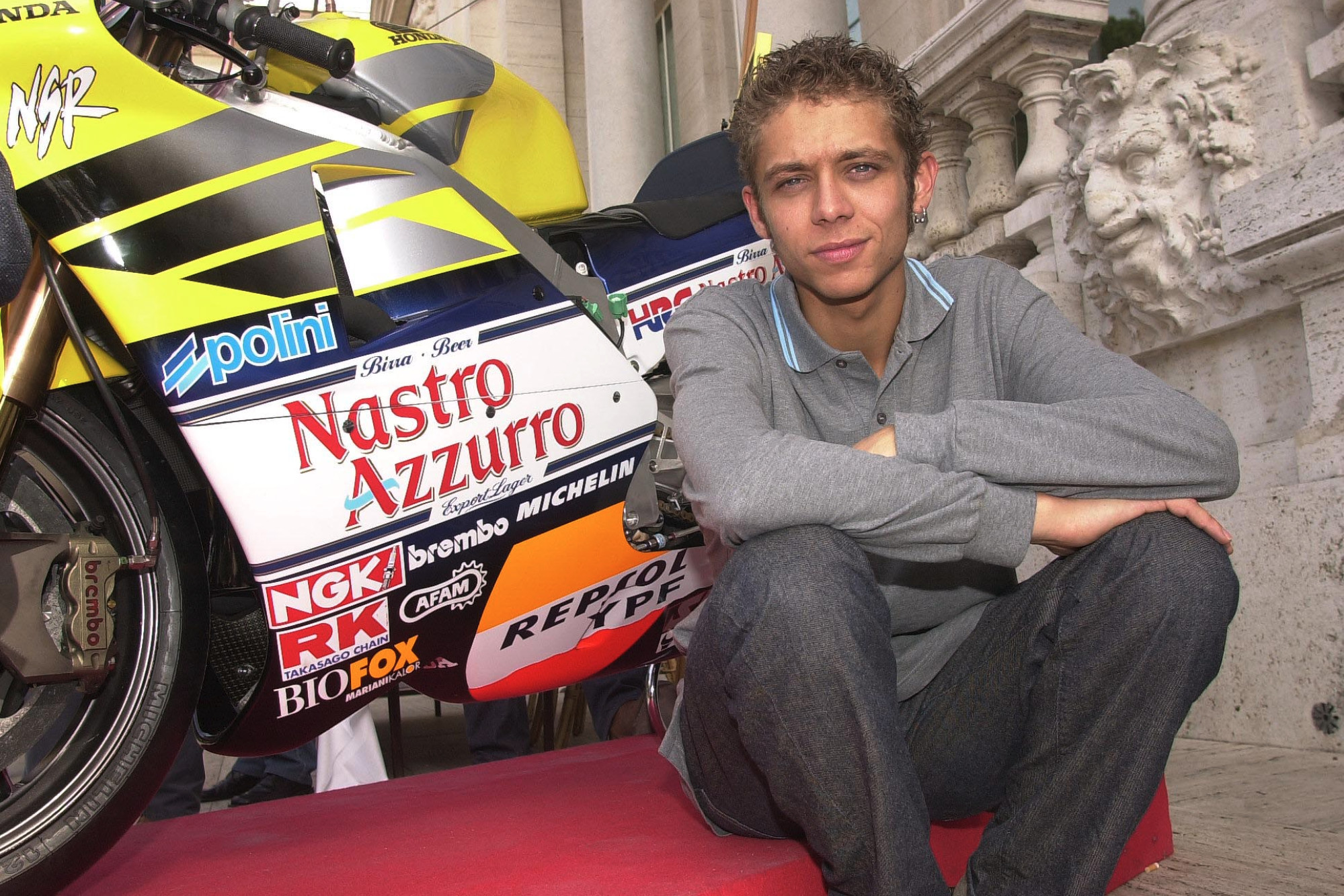 """I think I'm now quite good on 500s"": Valentino Rossi on his first premier-class title"