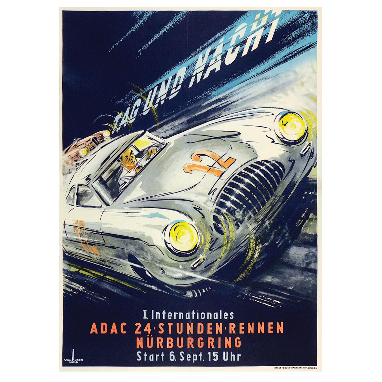 1953 24hr Nurburgring poster