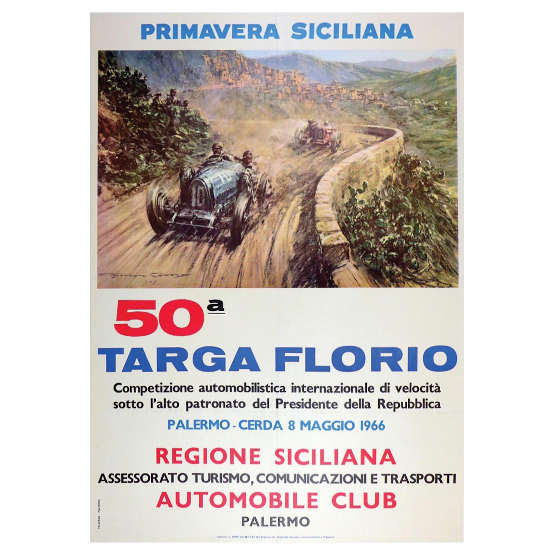 1966 Targa Florio poster