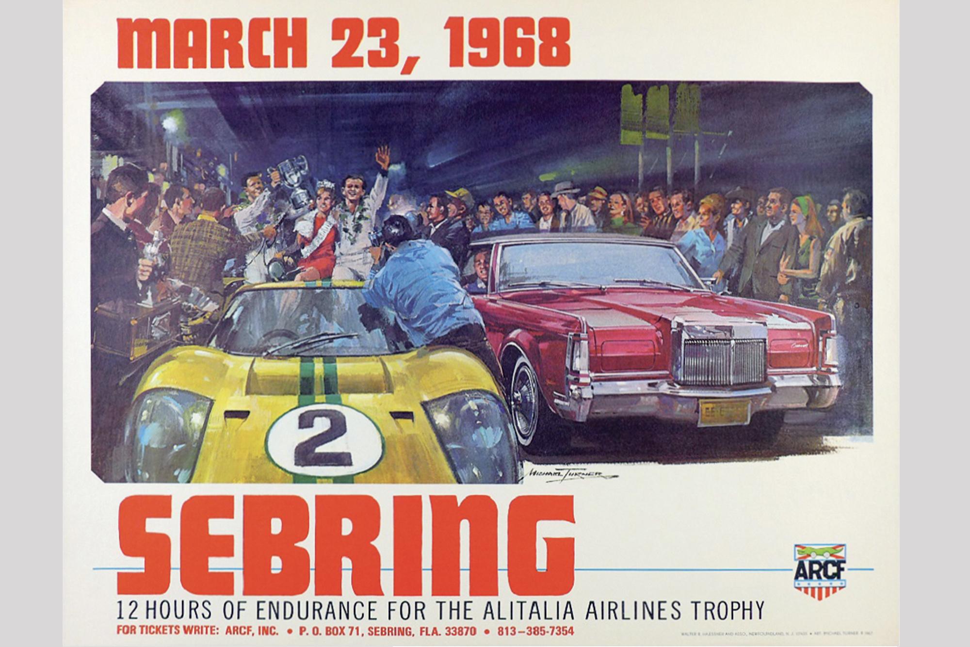 1968 Sebring poster
