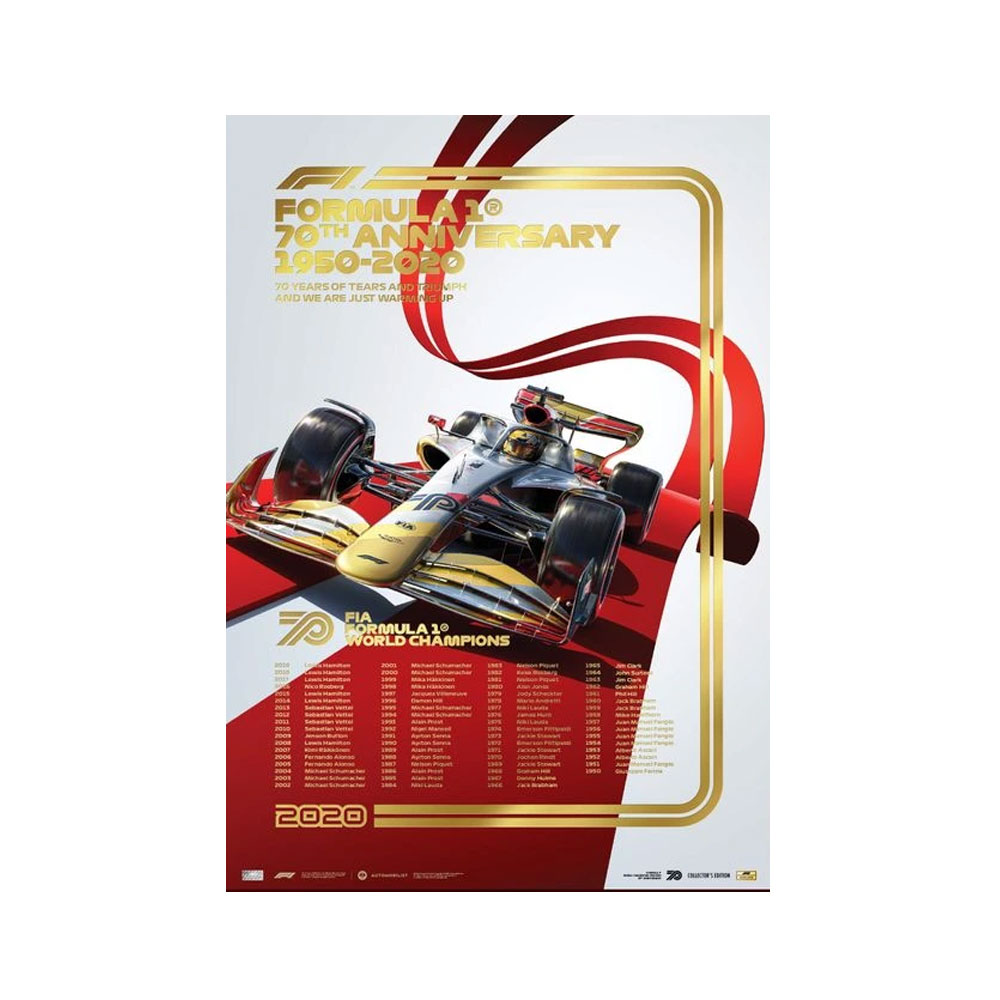 Product image for FIA FORMULA 1® World Champions 1950-2019 - 70th Anniversary | Collector's Edition