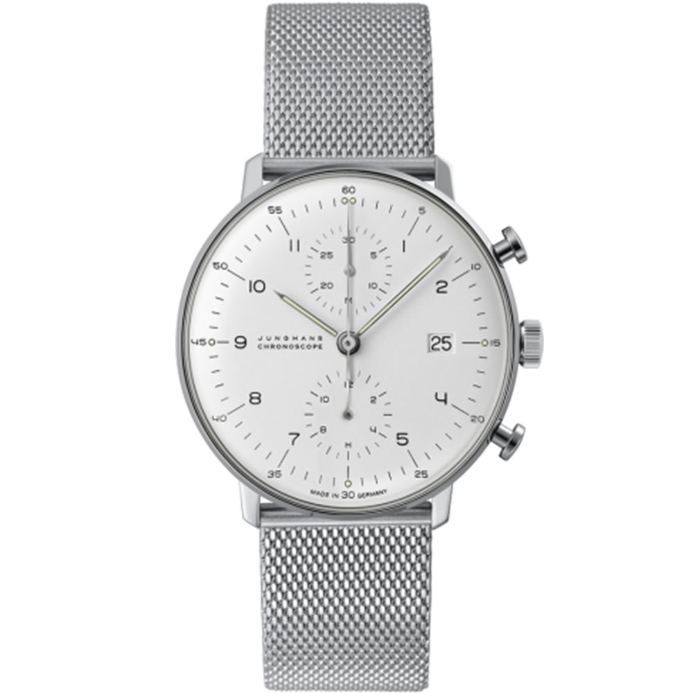 Product image for Junghans | Max Bill Chronoscope Steel