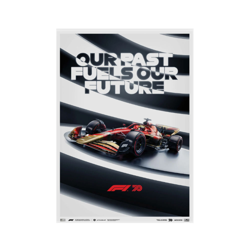 Product image for FORMULA 1® our past fuels our future - 70th Anniversary | Limited Edition
