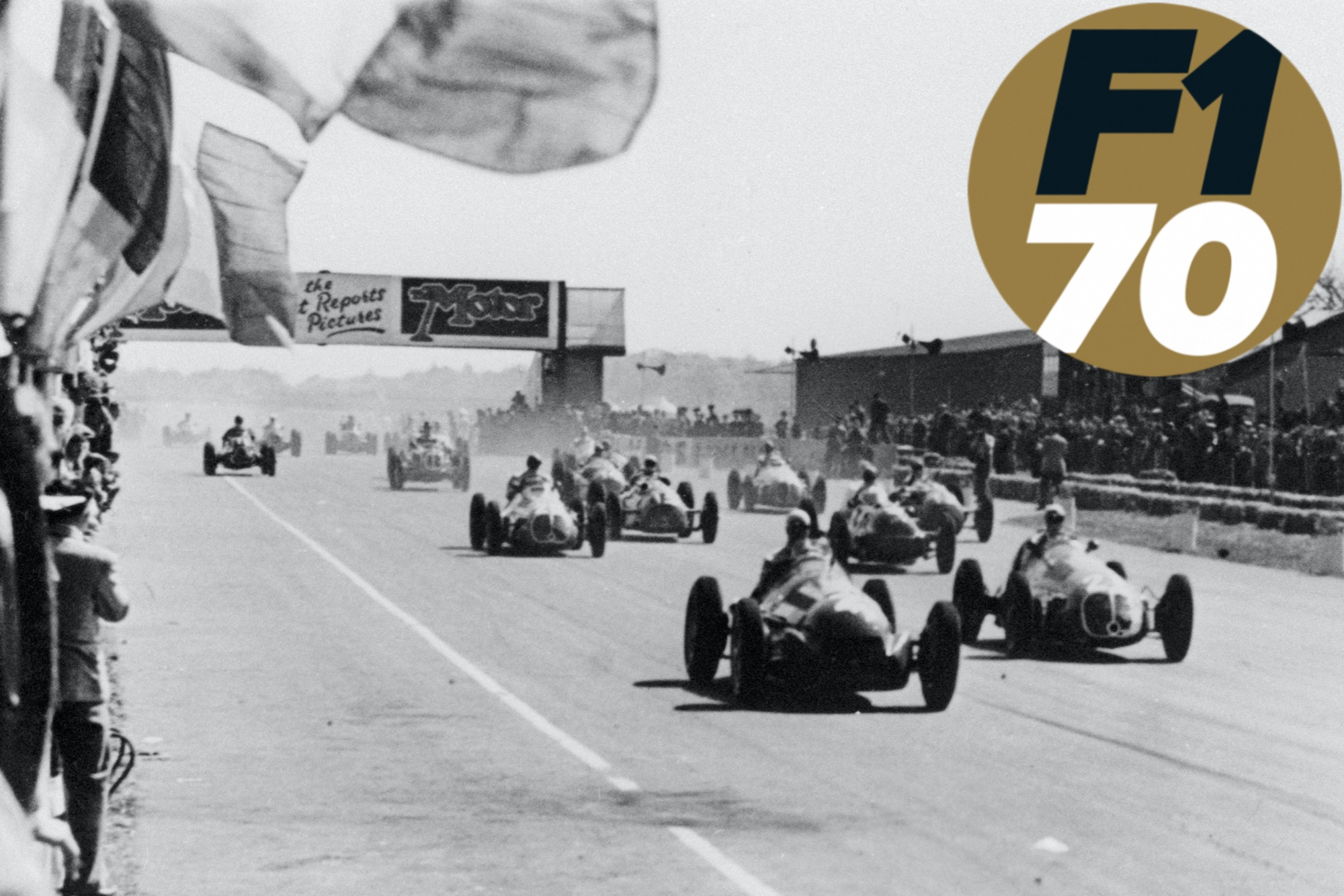 British cast that showed its promise in F1's first championship race