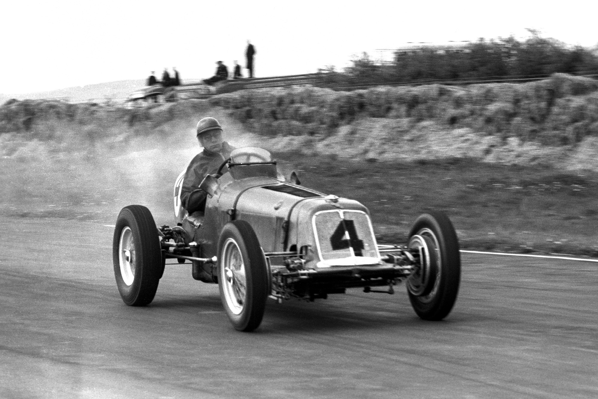 Bob Gerard driving an ERA in the 1951 Festival of Britain Trophy at Goodwood