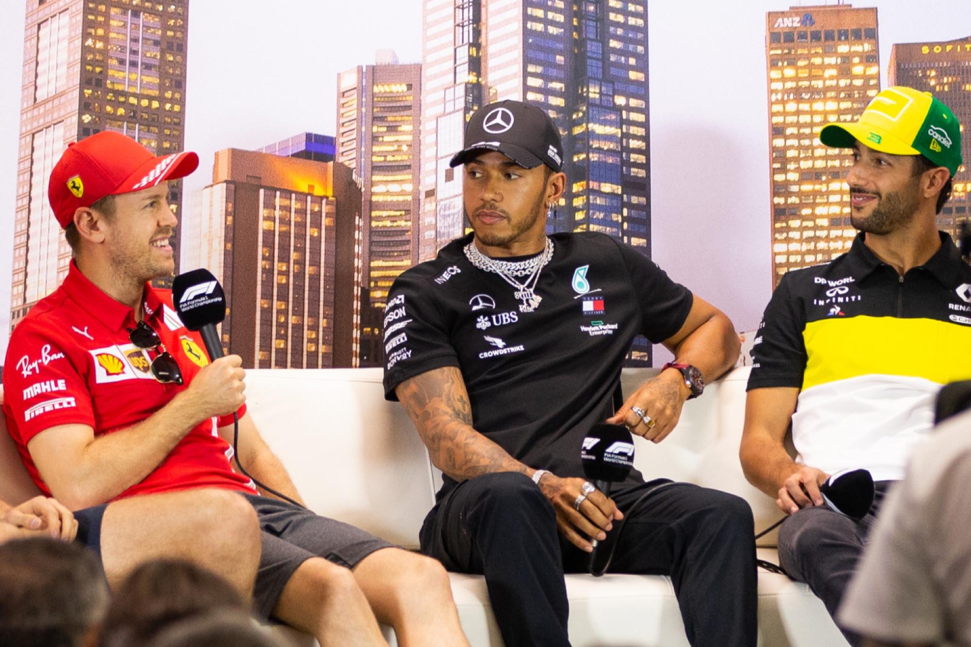 Thursday press conference Australian GP 2020