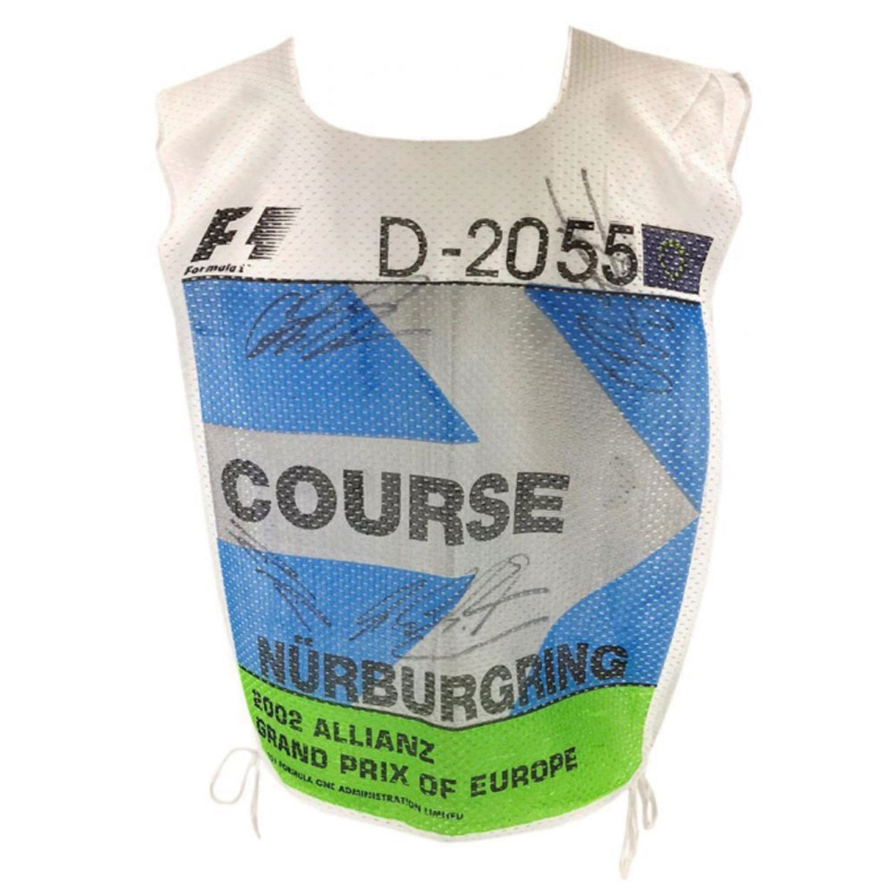 Product image for Signed European Grand Prix F1 Racing Marshall Tabard Rare Michael Schumacher & Ralph Schumacher