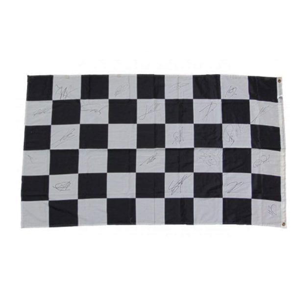 Signed Formula 1 Race Flag, 2011 Championship