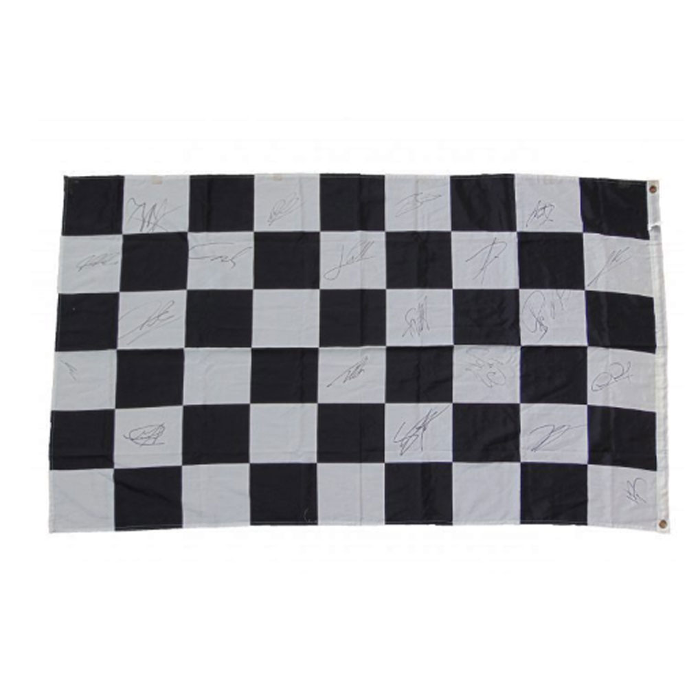 Product image for Signed Formula 1 Race Flag, 2011 Championship