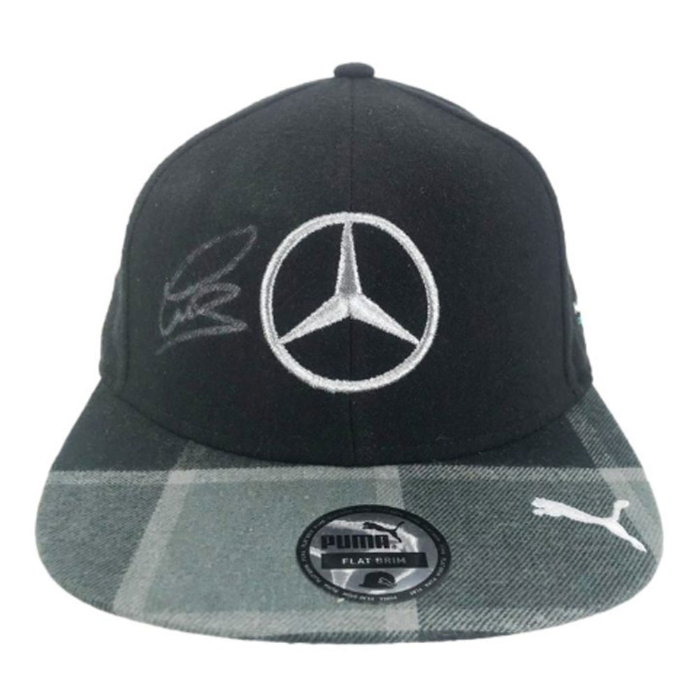 Product image for Signed Lewis Hamilton Flat Cap – F1 World Champion