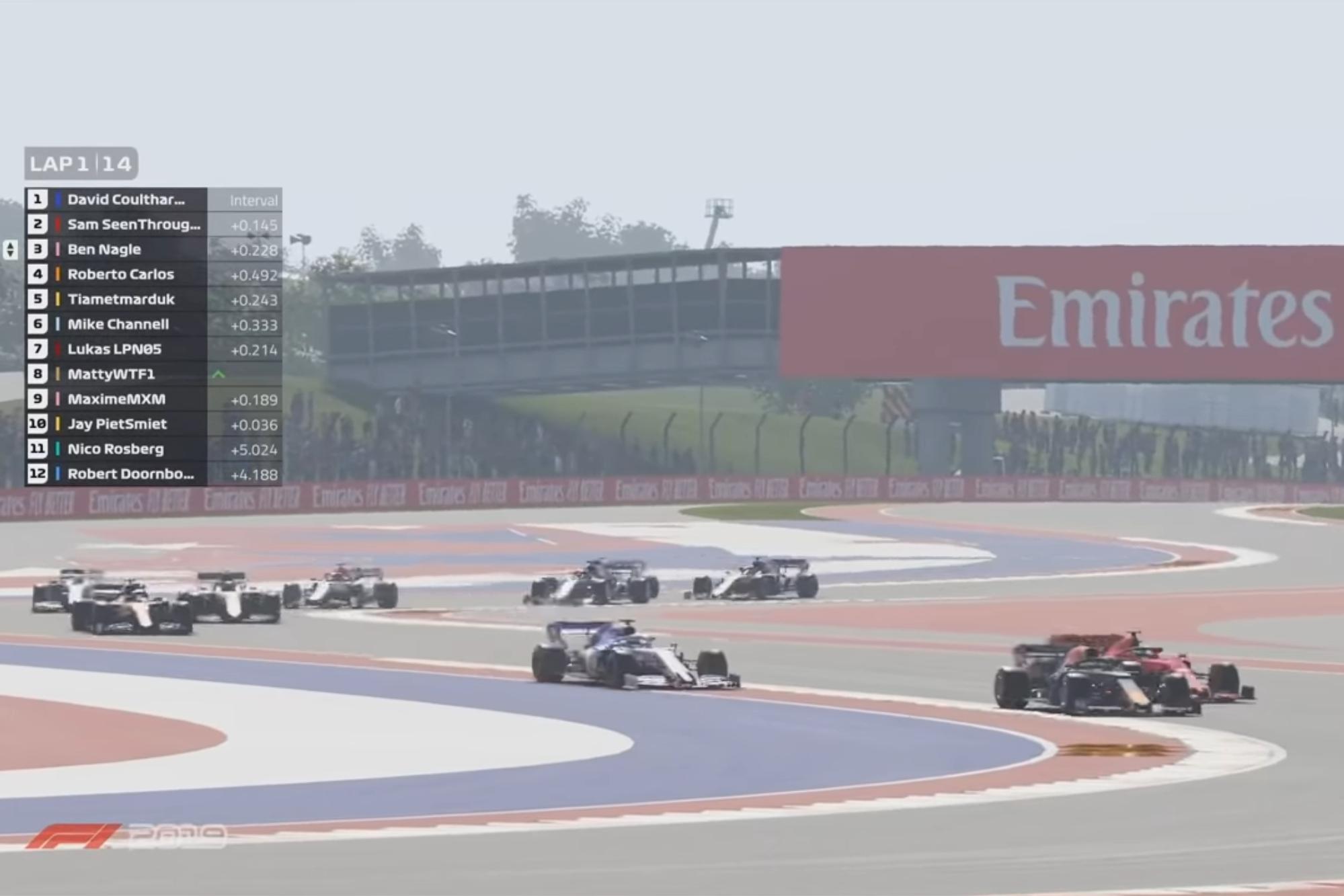 F1 esports challenge