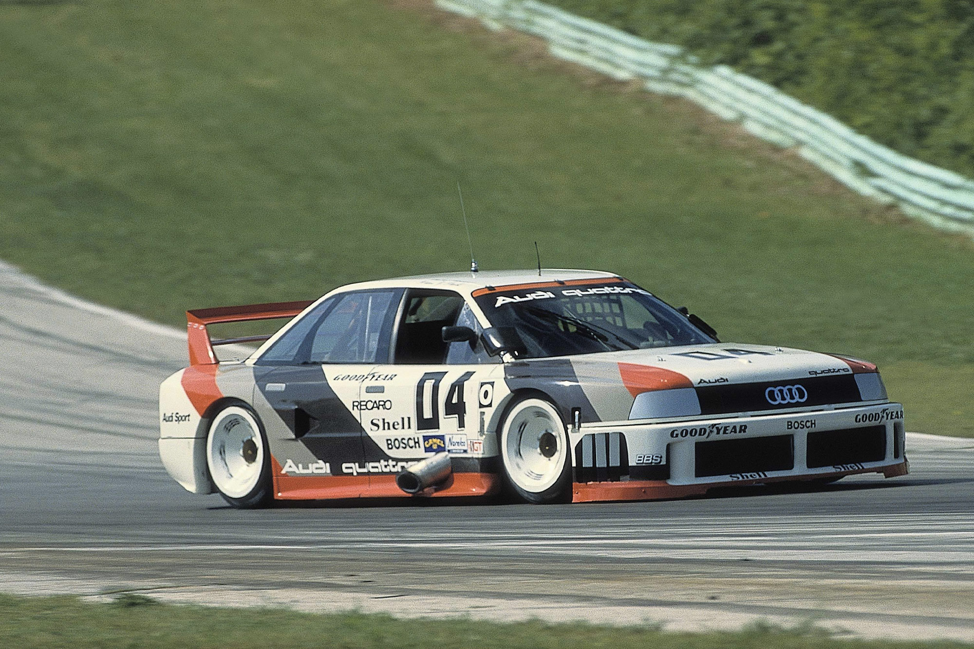 Audi 90 IMSA-GTO car in 1989