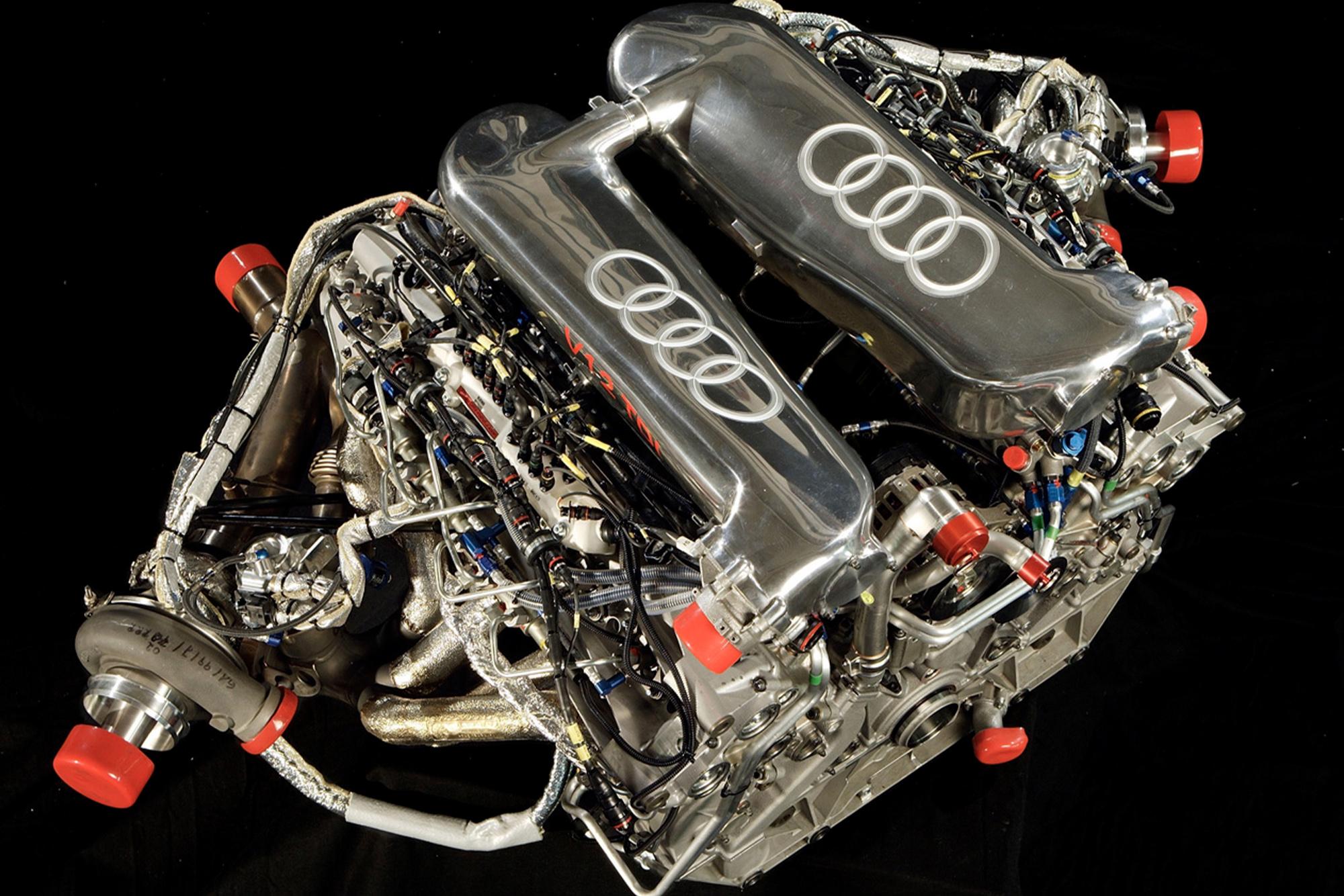 Audi V12 diesel engine