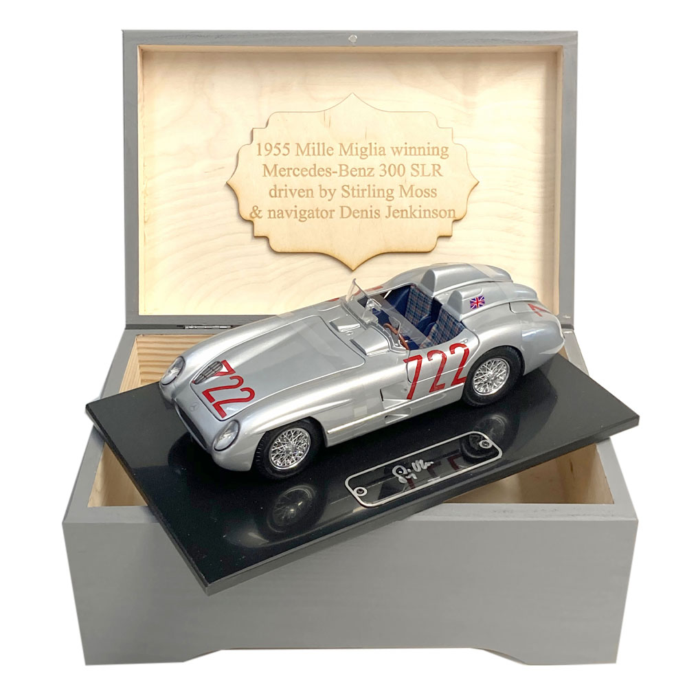 Product image for Boxed 1:18 '722' Collection signed Stirling Moss